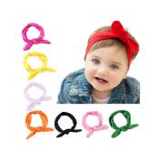 Ruiooy Baby Girl Headband Toddler Headdress Child Hairband Elastic