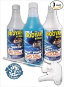 BOOYAH CLEAN BOAT CLEANING QUART TRIO