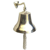 Large Navel Solid Brass Ship's Bell