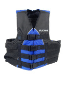 Flowt Extreme Sport 40401-2-2X/3X Extreme Sport Life Vest, Type III PFD, Closed Sides, Blue, 2X Large / 3X Large,