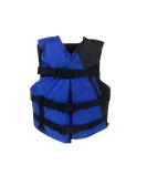 Flowt Multi Purpose 40201-2-YTH Multi Purpose Life Vest, Type III PFD, fits 23-41kg, Blue, Youth,