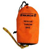 Maxxon Rescue Throw Bag RTB-1001 Rescue Throw Bag, Orange, 1cm by 23m Rope,