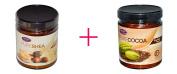 Life Flo Health, Pure Shea Butter, Skin Care, 270ml AND Life Flo Health, Pure Cocoa Butter, 270ml - BUNDLE