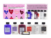 Shower Gel and Lotion Travel Size Gift Set - So Long To Going Solo Love Kit By Not Soap, Radio