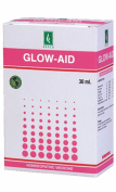 Adven homoeopathic GLOW-AID 25 ML improves skin complexion for pimples acne dark circle