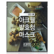 ACWELL Traditional Grain Syrup Ginger Mask Sheet 25g 10pcs Set for Firming