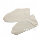 Spa Relaxus Unbleached Cotton Socks for Moisturising Treatment