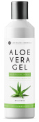 Aloe Vera Gel (240ml) by Kate Blanc. Pure Organic Cold Pressed Aloe. Relieves Itchy Scalp, Sunburn, Irritated Skin, Acne, Psoriasis, & Bald Spot Treatment, Skin Lotion.