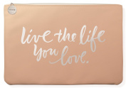 Fringe Studio Live the Life Faux Leather Medium Pouch