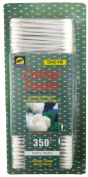 ToolUSA Special Jumbo Pack Of Cotton Swabs, 350 Count In Easy Open Dispenser Box