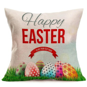 Amiley Cushion Cover Pillow Case , Easter Sofa Bed Home Decoration Cool new Festival Pillow Case Cushion Cover