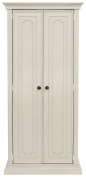 Franklin & Ben Nelson Armoire In Distressed White Finish, Distressed White