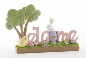 Easter Bunny Welcome Sign