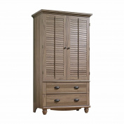 Wardrobe Armoire Storage Closet Clothes Cabinet Bedroom Furniture Organiser Wood