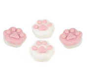 TKOnline 4 Pcs Cat's Paw Shape Squishy Seal Toy Slow Risng Reduce Pressure Toy