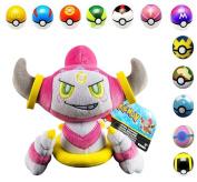 Pokemon Hoopa Plush Toy 23cm with Pokeball