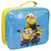 DESPICABLE ME MINIONS KIDS INSULATED SCHOOL LUNCH SANDWICH BAG BOX COOL YELLOW STUART DAVE