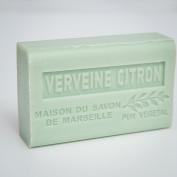 French Soap, Traditional Savon de Marseille - Lemon Verbena 125g