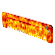 Wide Tooth Comb - AMBER