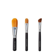 VEGAN LOVE Total Coverage Face Ultimate Concealer Brush Trio, Angle Blender
