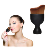 Aisa Professional Curved Makeup Brush Soft Cosmetic Powder Foundation Cream Brushes