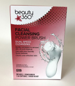CVS Pharmacy Beauty 360 Facial Cleansing Power Brush Dual Speed Exfoliate Refres