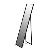 Metal Framed Rectangular Full Length Mirror - Black