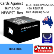 EXPRESS COURIER | Cards Against Humanity Expansions BLUE Box 300 Cards NEW RELEASE  .