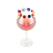 TrueZoo Planet Drink Charms, Multicolor