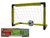 Lvnv Toys@Soccer Goals Set with Inflatable Soccer Ball and Air Bump for Kids Backyard Soccer Gate Toy