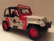 Jada Toys Jurassic World JP Staff Jeep Wrangler Die Cast Car
