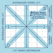 Riley Blake Designs by Lori Holt - Trim-It Ruler Square 6.4cm X 6.4cm
