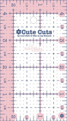 Riley Blake Designs - Cute Cut Ruler by Lori Holt - Rectangle 6.4cm X 11cm