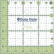 Riley Blake Designs - Cute Cut Ruler by Lori Holt - Square 8.9cm X 8.9cm
