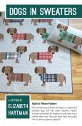 Dogs in Sweaters Quilt Pattern by Elizabeth Hartman