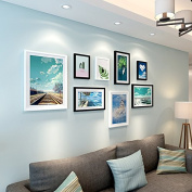 The living room is decorated bedroom staircase simple continental creative frame wall,