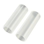 2 Pcs Plastic Battery Tube Case Adaptor 6cm