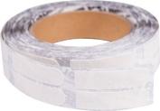 Ebonite Premium Bowling Tape- 1.9cm White Roll of 500 Pieces