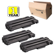 Dell 330-9523 (7H53W) Toner Cartridge 3 Pack Black Replacement use for Dell 1130, 1130n, 1133, 1135n Laser Printers, Etechwork Brand