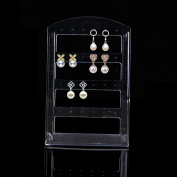 Doober 24 Holes Jewellery Earring ShowCase Plastic Display Rack Stand Organiser Holder