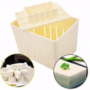 MENGCORE DIY tofu machine Tofu Maker Press Mould Kit + Cheese Cloth Soy DIY Pressing Mould Kitchen Tool