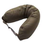 BUKUANG Memory Foam Neck Rest Travel Pillow Best Support \u0026 Removable Cover,I
