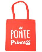 HippoWarehouse Ponte princess Tote Shopping Gym Beach Bag 42cm x38cm, 10 litres