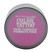 3 Pack- Maybelline Colour Tattoo Pure Pigments Eye Shadow #20 Pink Rebel by Maybelline