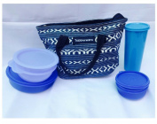 Tupperware Best True Blue New Lunch Set