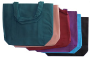 Set of 6 Reusable Grocery Shopping Bags – Multicoloured Fabric Grocery Totes