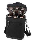 Primeware Beer Bag Black Insulated 6 Bottle Beverage Carrier