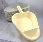 Slipper Pan Support and 25 Pulp Slipper Pan Liners