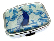 Small Pill Box Pill Case Pillboxes Pill Holder Peacock Gifts Randomly Picked