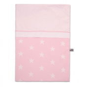 Baby's Only 910994 Duvet Cover 100x135 cm Star Baby Pink/White